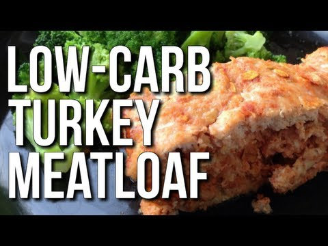 EASY MUSCLE BUILDING MEAL:  TURKEY MEATLOAF