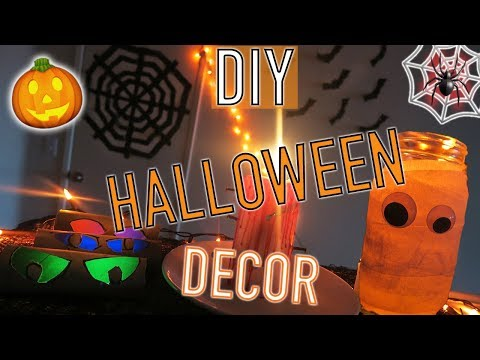 DIY Halloween Decorations! 5 Easy + Affordable Last Minute Ideas | PINTEREST INSPIRED | Kevin Rupard