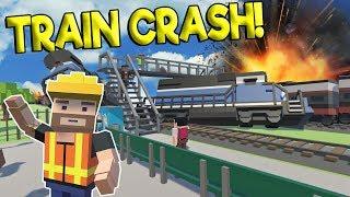 train crashes in VR Videos - 9tube tv