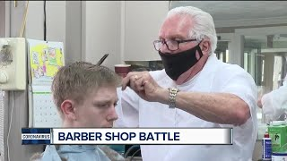 Judge refuses to shut down Owosso barbershop