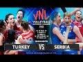 Turkey Vs Serbia Highlights Womens VNL 2019