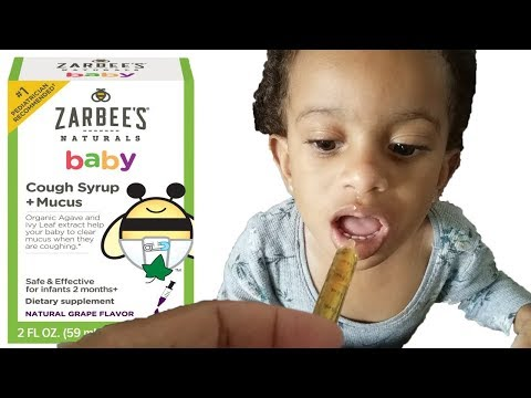 Zarbee's Baby Cough Syrup + Mucus Organic | Best Cough & Cold Medicine For Infants / Toddlers