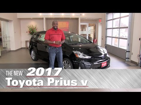 The New 2017 Toyota Prius v Five - Minneapolis, St Paul, Brooklyn Center, MN - Prius v Review