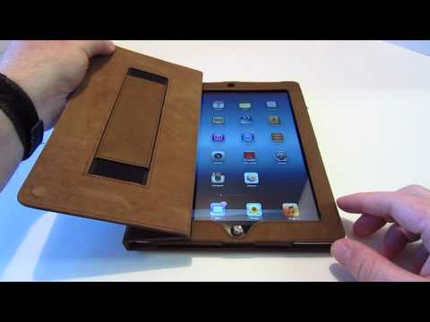 Review: Snugg Distressed Brown Leather Case iPad 2/3