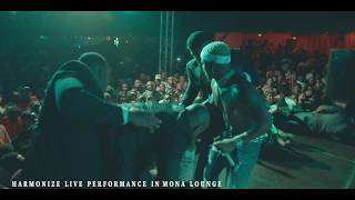 Harmonize Live Performance in Mona lounge (TABATA) - Part 1