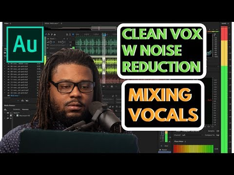 Mixing Vocals in Adobe Audition V2: Cleaning up Vocals w/ Noise Reduction