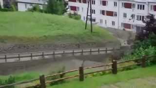 Raw Footage of Gigantic Mudflow in Austria