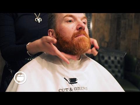 Curly Beard Trim | Cut and Grind