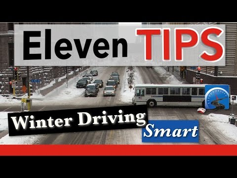 11 Winter Driving Tips | Winter Driving Smart