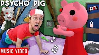 PSYCHO PIG 🎵 FGTeeV Official Music Video (Roblox PIGGY Song)