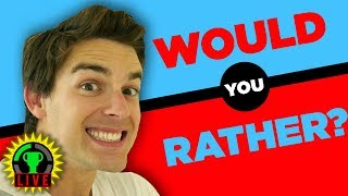 Would You Kiss Your Cousin? | Would You Rather