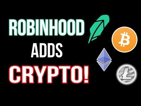 Robinhood Adds Crypto Trading | NO FEES!