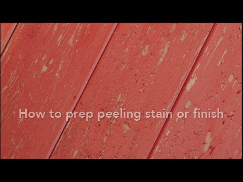 Prep Your Wood: Peeling Stain or Finish