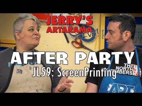 Jerry's Live After Party - Screenprinting (JL59)