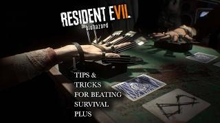 Resident Evil 7 21 | Survival Plus Blackjack Tutorial | RE7 Banned Footage DLC