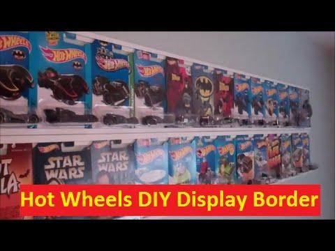 Hot Wheels DIY Room Border Display