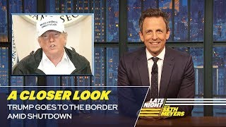 Trump Goes to the Border Amid Shutdown: A Closer Look