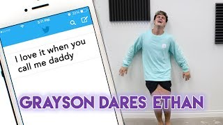 Grayson Dares Ethan!!