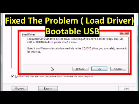 How to add USB 3.0 Drivers to Bootable USB windows 7 | To fixed windows installation error