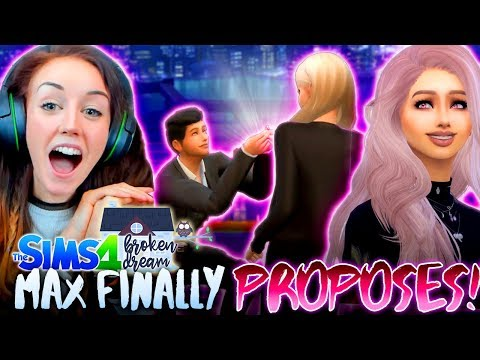 BIRTHDAYS, PROPOSALS AND... BREAKUPS!? 💔 (The Sims 4 - BROKEN DREAM #9! 🏚)