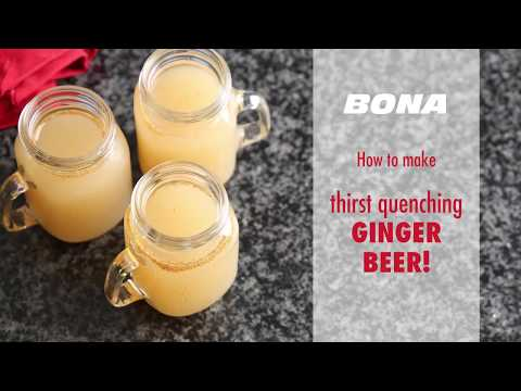 WATCH: Traditional ginger beer recipe