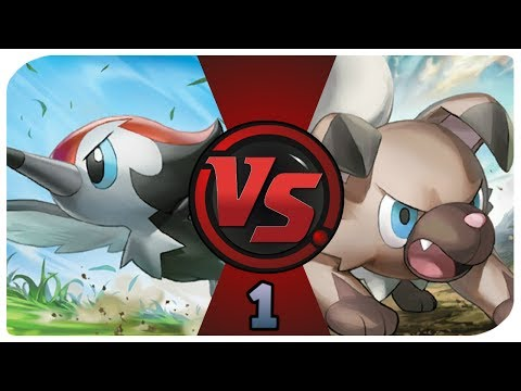 Rockruff vs. Pikipek - Part 01 (TCG Time - Pokemon Pack Battle)