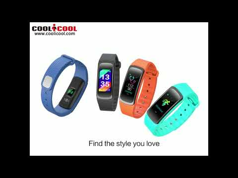 Colorful screen blood pressure smart bracelet SMA-B3