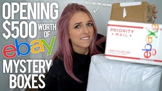 OPENING $500 EBAY MYSTERY BOXES