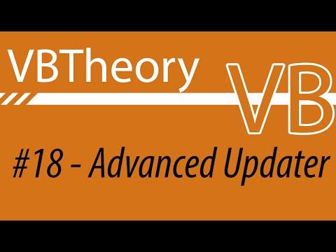Advanced Update Manager - VB#18 (Dl Link In Desc.)