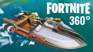 VR 360 video Fortnite Chapter 2 Season 11 Boat First Drop 360° Virtual Reality
