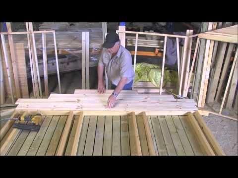 How to Build a cubby house cladding the gable pt2