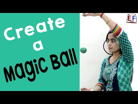 Science Magic : Ball Following Command : School Experiment and Project