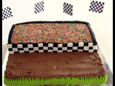 How to Make a Monster Truck Birthday Cake