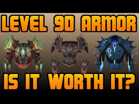 Level 90 Power Armor: Is it Worth It? [Runescape 2014]