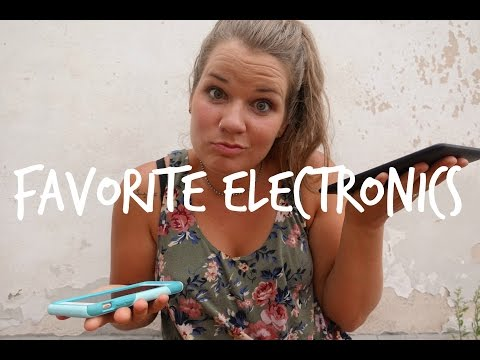 My TOP 9 Essential Travel Electronics
