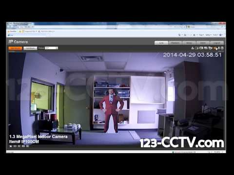 1.3 Megapixel 720p Wifi IP Camera with Two Way Audio