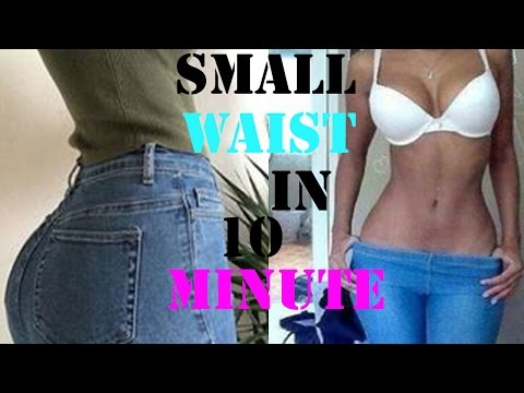 how to get a smaller waist fast|10  minutes abs exercises to shrink waist|workout for a slim waist