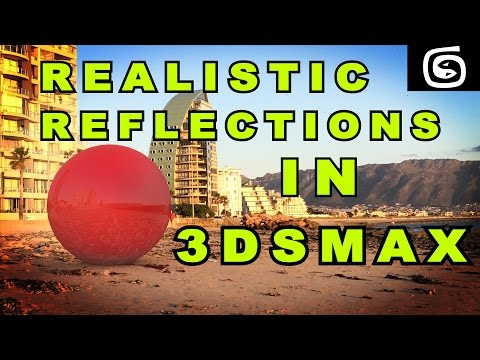 3ds Max Tutorial - Realistic Reflections In 3ds Max