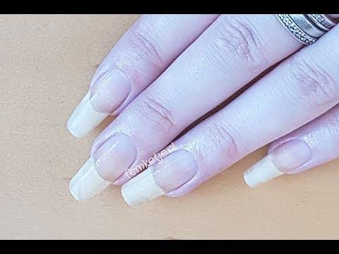 Long Natural Nails: Cleaning, Cuticles & Handcare - femketjeNL