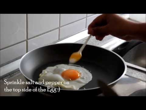 How to make Half Boil (South Indian Style) Fried Eggs