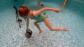 Weights at the Bottom of the Swimming Pool