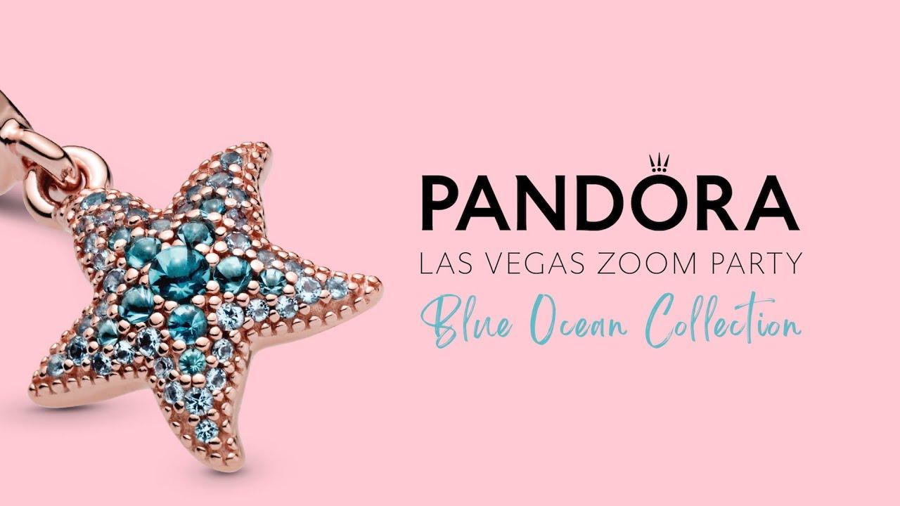 Pandora Las Vegas 2021 Product Launch - Ocean Collection