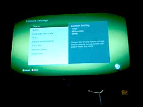 how to change language on new xbox 360 (in English)