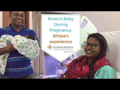 Breech Baby During Pregnancy- Shilpa's experience