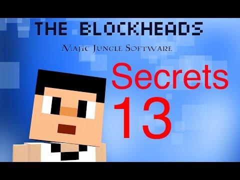 The Blockheads - Secrets 13 (Ver 1.4, Unlimited Rails, Trains, Cave Trolls)