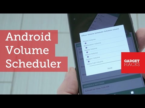 Make Android's Volume Levels Change with Your Schedule [How-To]