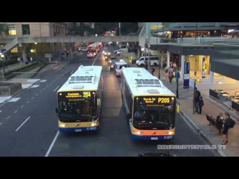Adelaide Street Buses April 2017