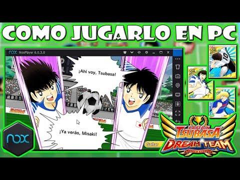 ☆COMO JUGAR CAPITAN TSUBASA DREAM TEAM EN PC (NOX PLAYER