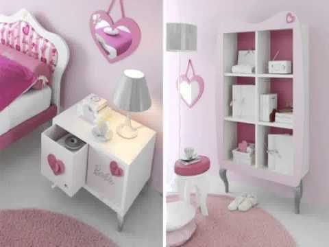 Barbie bedroom decorations inspiration