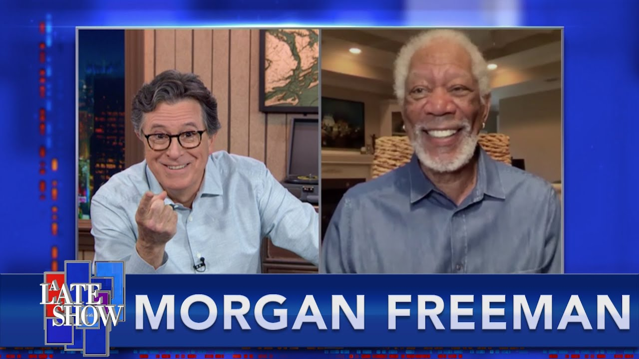 """""""You Learn Something About Yourself"""" - Morgan Freeman On Surviving A Storm At Sea"""